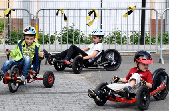Die Spezialradmesse bietet auch den Kindern neue Produkte.