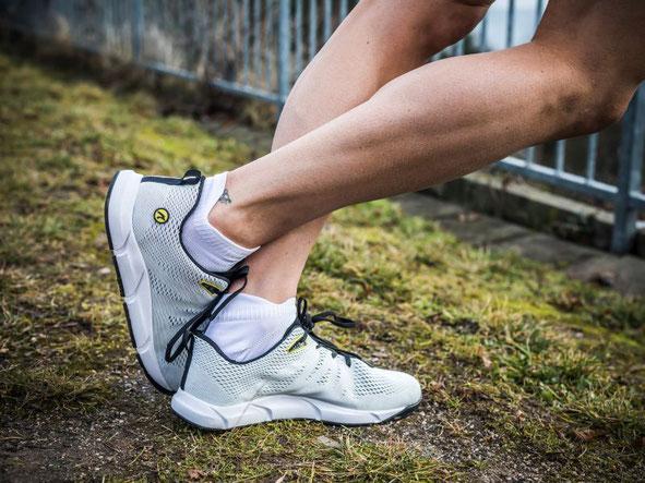Mit dem nimbleToes Addict ist das Laufen ohne Schmerzen möglich