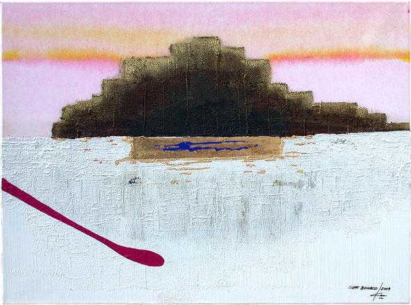 Erde vom Gardasee, Kunst aus Nussdorf