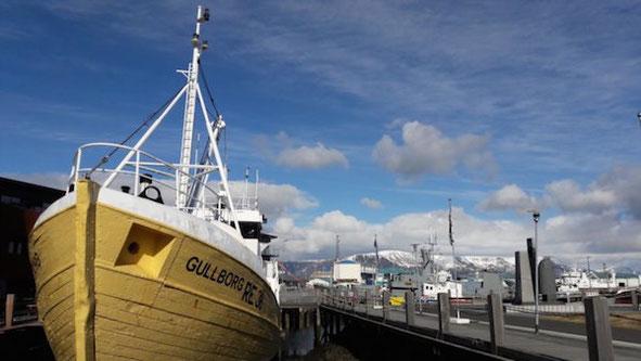 Am Hafen von Reykjavik, Island