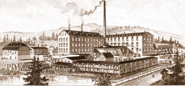 """Bild: Wünschendorf Teichler Erzgebirge """"Alte Seifertmühle"""" 1900"""