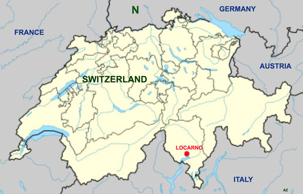 Map of Switzerland. Map graphics by Anthony Zois.