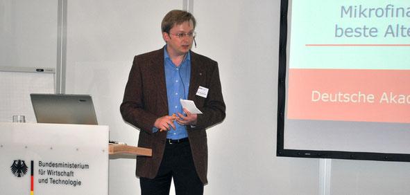Eugen Murdasow, Startmesse, Bundesministerium für Wirtschaft und Technologie, DAT, DAVW, Exportmanager