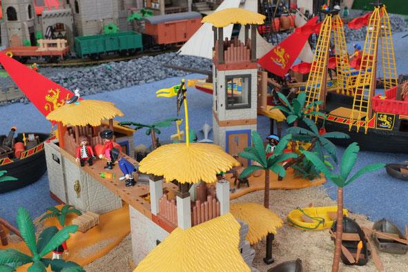 Seeräuber Piraten Mittelalter Miniwelten Playmobil Lathen Ausstellung