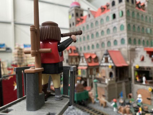 Polizei Figuren Miniwelten Playmobil Lathen Ausstellung