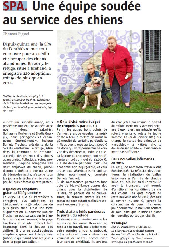 Décembre 2015 - Le Télégramme