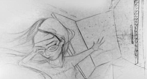 Sketch Sexy Gerls  Mural  Nvidia