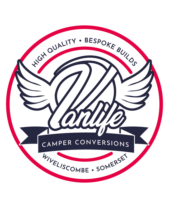 Vanlife Camper Conversions New Logo (with wings)  designed by Design By Pie
