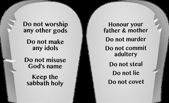 Depuis les 10 commandements donnés à Moïse sur le mont Sinaï, UN seul Dieu devait être adoré: le Souverain suprême de l'univers dont le Nom est Jéhovah.