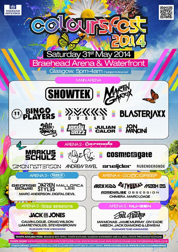 Coloursfest 2014