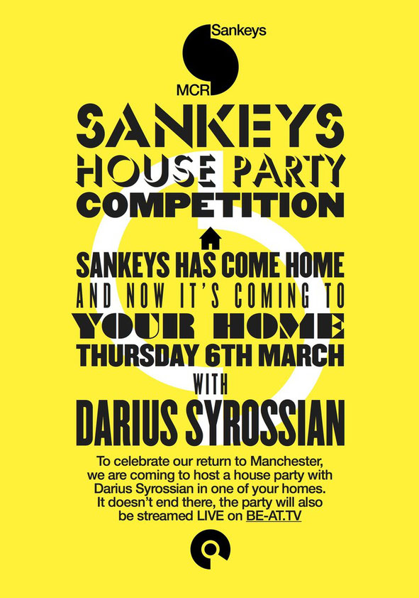 Sankeys House Party