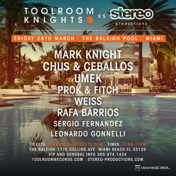Toolroom Knights Vs Stereo Productions
