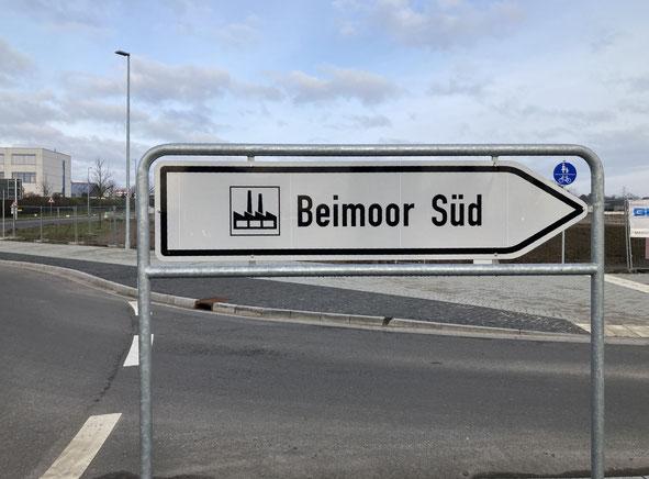 Gewerbegebiet Ahrensburg Beimoor Süd