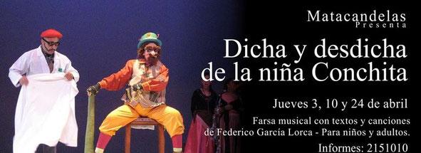 dicha y desdicha de la niña cochinita Teatro Matacandelas
