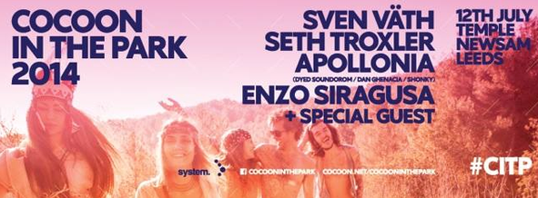 Cocoon In The Park 2014