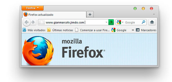 Mozilla Firefox 5 Gianmarcotv