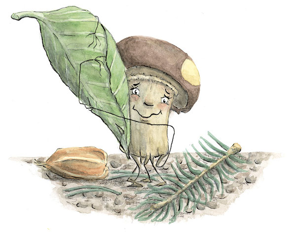 Die kleine Myka, eine echte Pilzolotte.