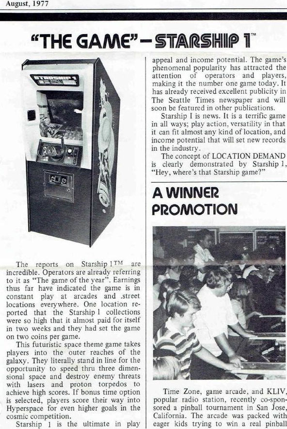 """COIN CONNECTION""  August 1977"