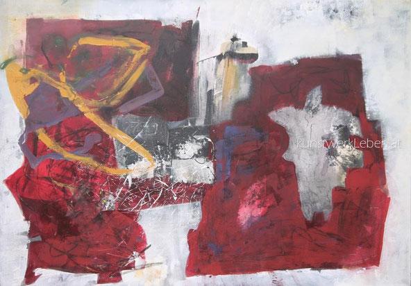 DERWISCH, Acryl auf Leinwand, 100cm breit x 70cm hoch