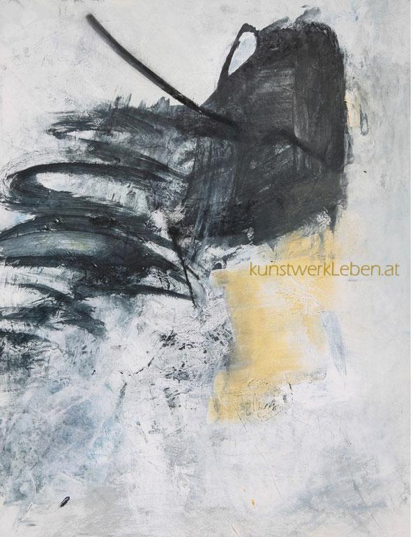 KYD, Acryl auf Leinwand, hochwertig gerahmt mit Schattenfuge, 70cm breit x 90cm hoch