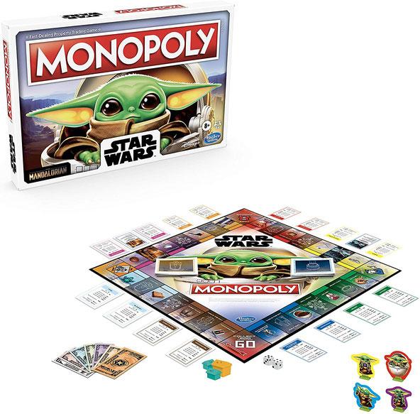 Monopoly baby yoda Star Wars The Mandalorian