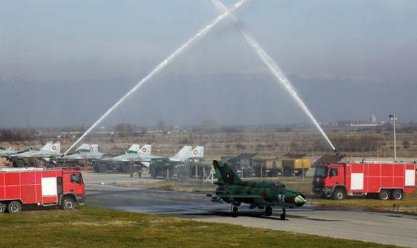 La cerimonia di addio del MiG-21 ( Foto: Alexander Mladenov)