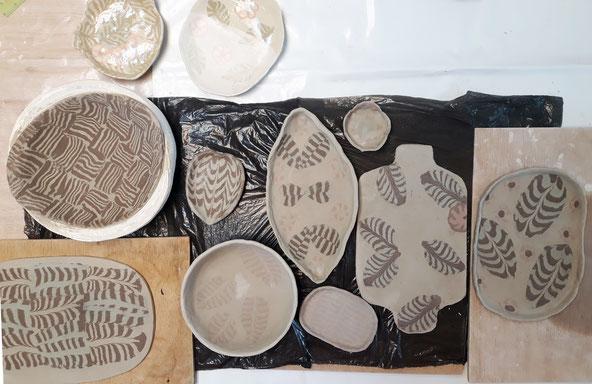 Sábado cerámica Nerikomi