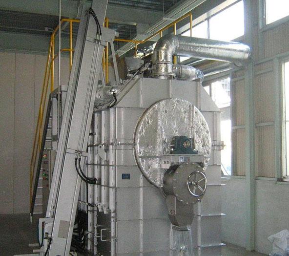 減圧油化炭化装置(エナジーACE)写真