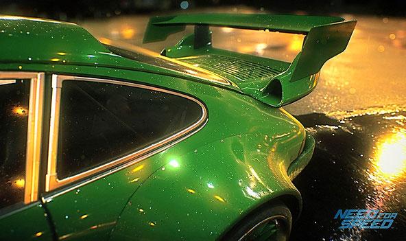 Need for Speed 2015 - Das Heck von einem Porsche