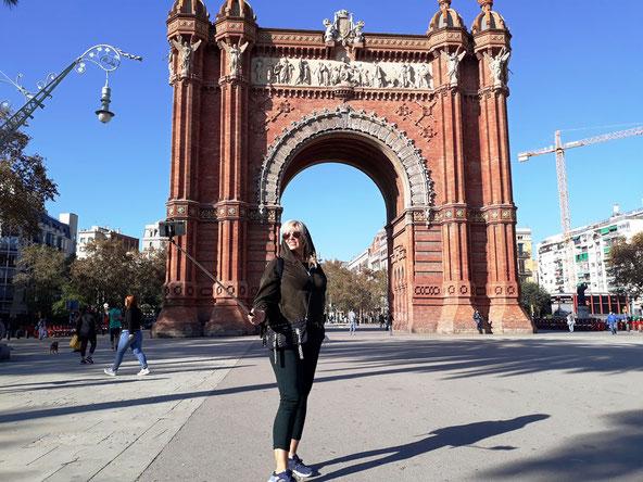 Триумфальная арка Барселоны - интересные факты