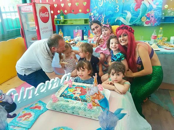 Festa a tema Sirenetta Ariel