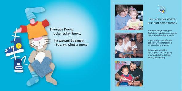 Bunnaby Bunny: Spread 1