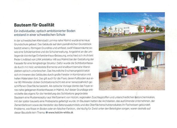 Zeitungsausschnitt aus Deutsches Architektenblatt