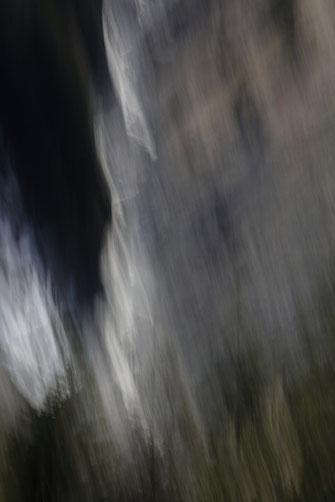 """""""Matière et vibration"""". Photographie éditée à 7 exemplaires et 2 épreuvres d'artiste. 2019."""