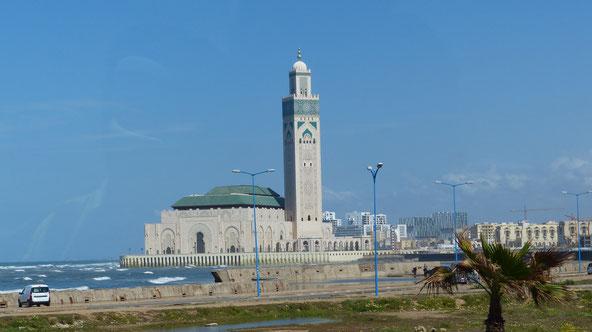 Hassan-II.-Moschee - SOUR JDID - Casablanca - Marokko