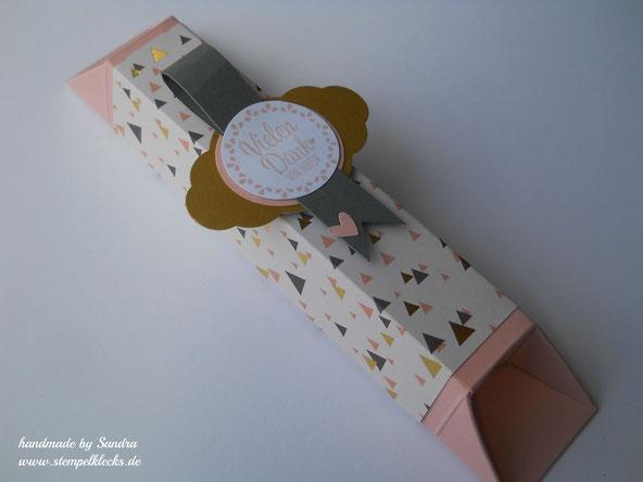 schokoladenverpackung ohne zu kleben stempeln stanzen und basteln mit stampin 39 up. Black Bedroom Furniture Sets. Home Design Ideas