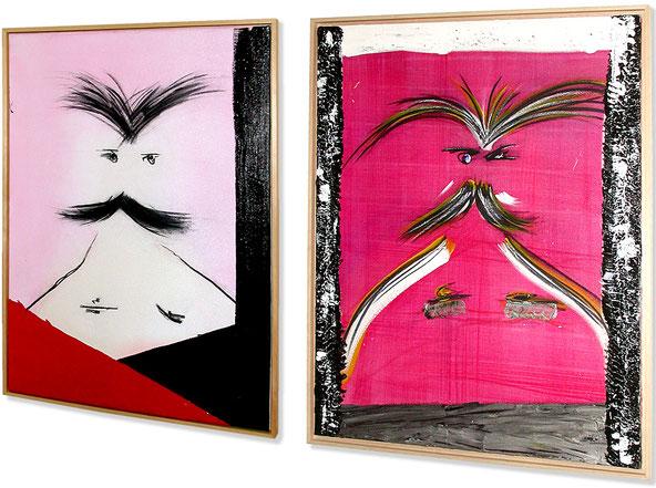 free art eu, Acryl und Kohle
