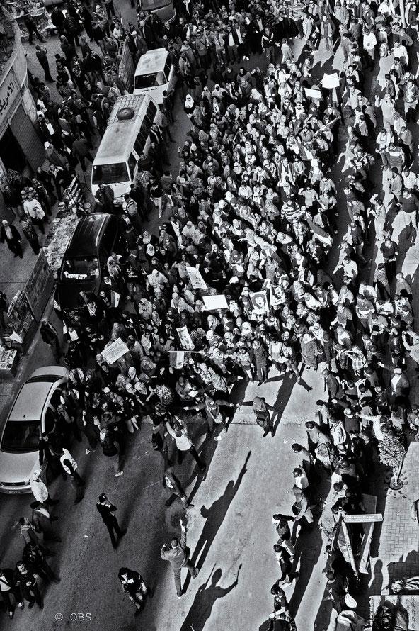 Women demonstration © OBS