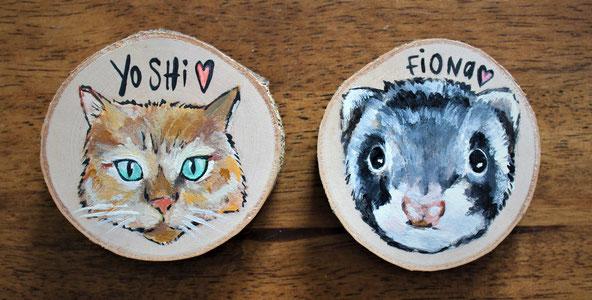 Customized animal portrait