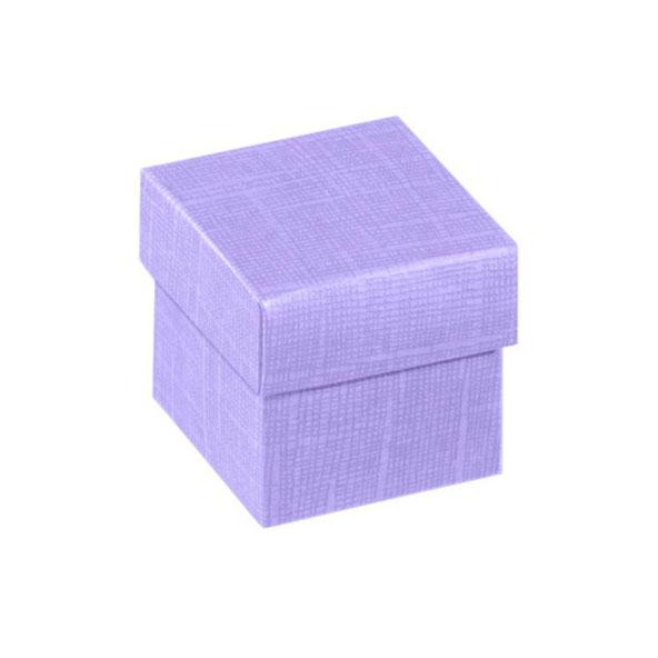 Geschenkbox fliederfarben