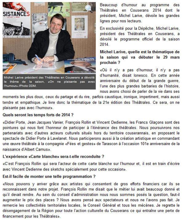 theatrales en couserans 2014