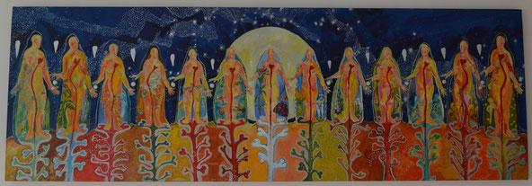Las trece Abuelas. Autora: Nati Estébanez