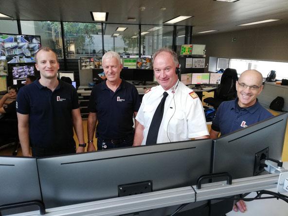 Landeskommandant Ing. Peter Hölzl konnte gegen 13:45 Uhr die Feuerwehren von der Leitstelle Tirol aus  über Funk informieren, dass die Bereitschaft im Gerätehaus nicht mehr erforderlich ist.