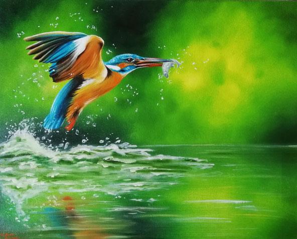Öl-Gemälde