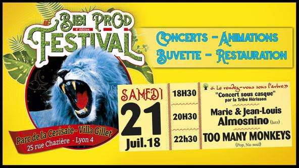Bibi Prod Festival 21 Juillet 2018