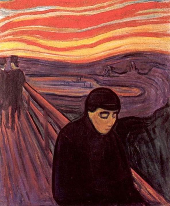 """Edvard Munch, """"Disperazione"""" (1894)"""