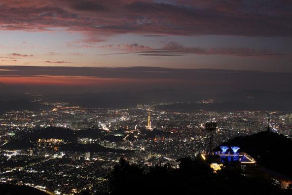 大邱の夜景