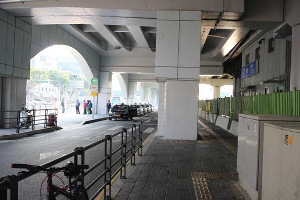 東大邱駅タクシー乗り場