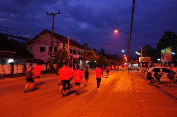 ルアンパバーンハーフマラソン