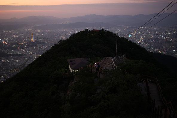 アプサン登山道